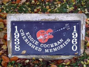 MEMORIAL TO EDDIE COCHRAN