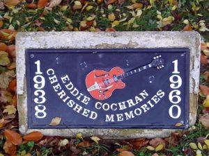 MEMORIAL TO EDDIE COCHRAN