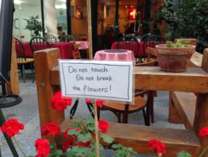 estaurant-flowers